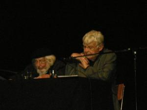Ernesto Cardenal y Klaus Götte