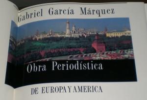 """Portada de """"Obra periodística"""", de García Márquez"""